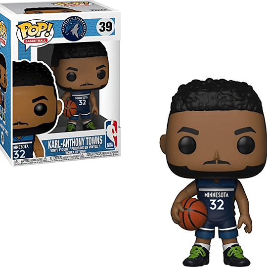 FUNKO POP! Sports- Basketball: Karl-Anthony Towns