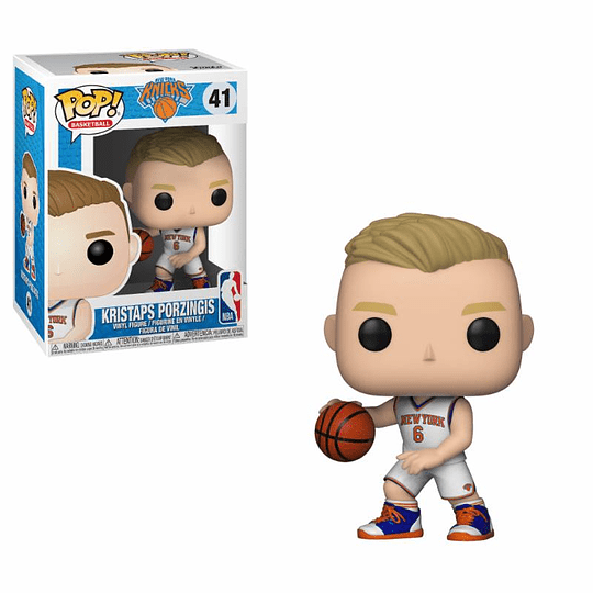 FUNKO POP! Sports - Basketball: Kristaps Porzingis
