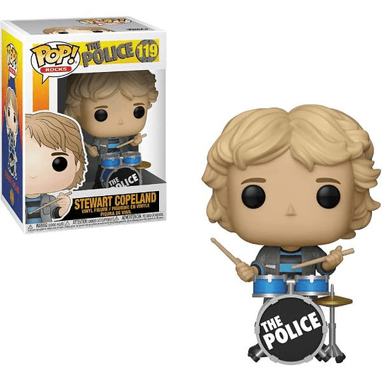 FUNKO POP! Rocks - The Police: Stewart Copeland