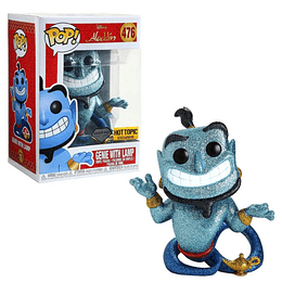 FUNKO POP DIAMOND! Disney - Aladdin: Genie with Lamp
