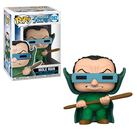 FUNKO POP! Marvel - Fantastic Four: Mole Man