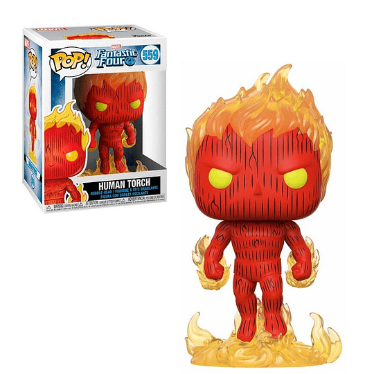 FUNKO POP! Marvel - Fantastic Four: Human Torch