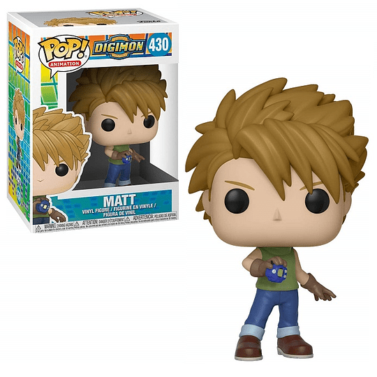 FUNKO POP! Animation - Digimon: Matt