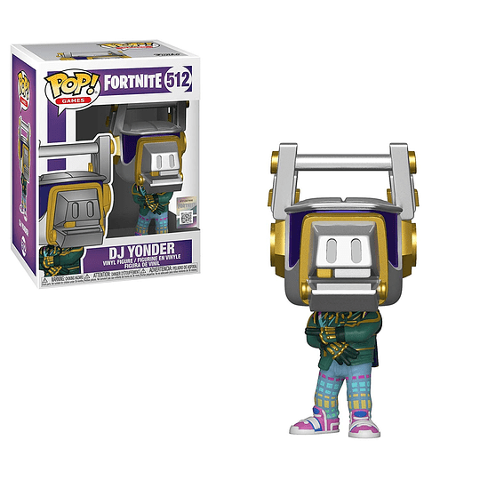 FUNKO POP! Games - Fortnite: Dj Yonder