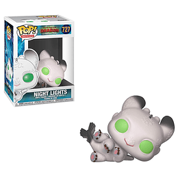 FUNKO POP! Movies - How to Train your Dragon: Night Lights White