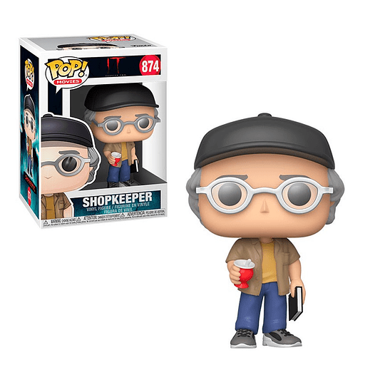 FUNKO POP! Movies - IT: Shopkeeper (Stephen King)