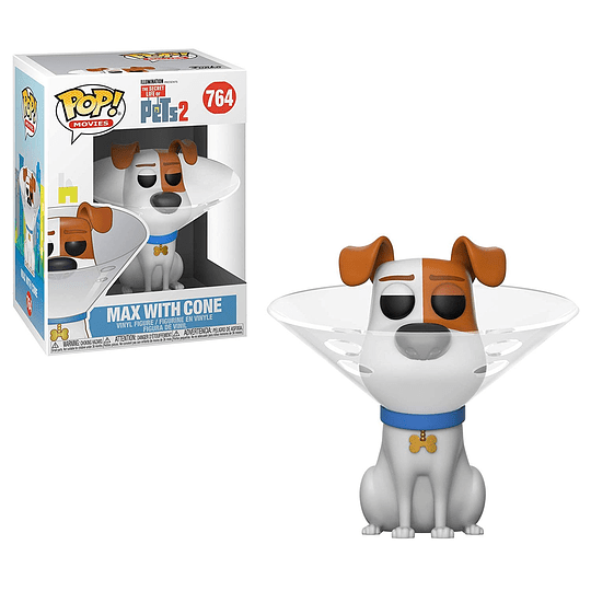 FUNKO POP! Movies - The Secret Life of Pets: Max with Cone