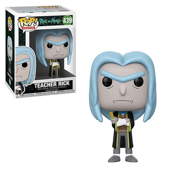 FUNKO POP! Animation - Rick and Morty: Teacher Rick