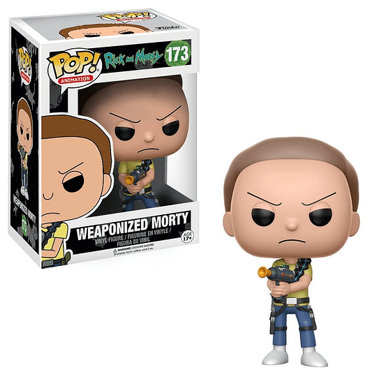 FUNKO POP! Animation - Rick and Morty: Weaponized Morty