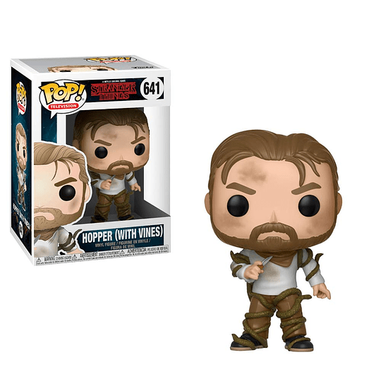 FUNKO POP! Television - Stranger Things: Hopper with Vines