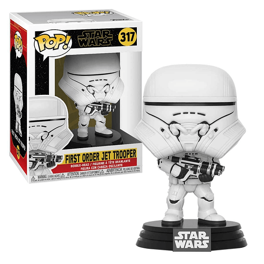 FUNKO POP! Star Wars - First Order Jet Trooper