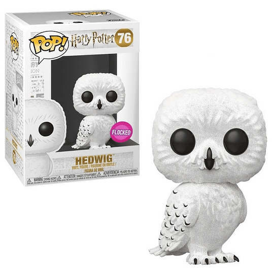 FUNKO POP! Movies - Harry Potter: Hedwig Flocked Exclusive
