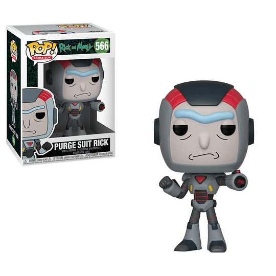 FUNKO POP! Animation - Rick and Morty: Purge Suit Rick