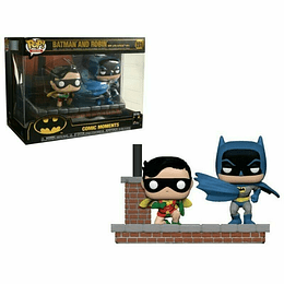 FUNKO POP DELUXE! Heroes - Batman and Robin