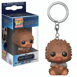POCKET POP! KEYCHAIN! The Crimes of Grindelwald - Baby Niffler Brown