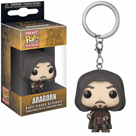 POCKET POP! KEYCHAIN! The Lord of the Rings - Aragon