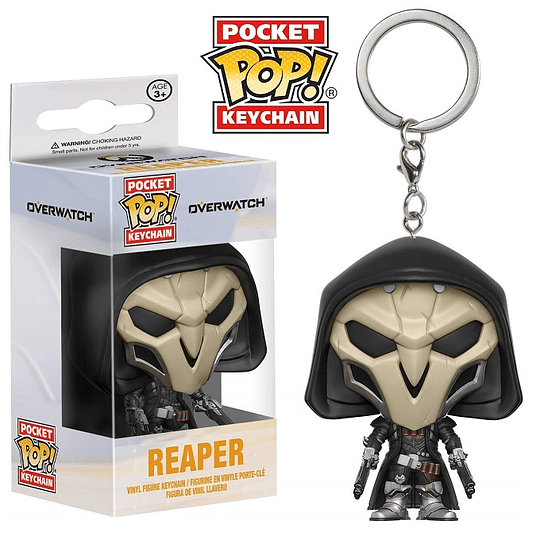 POCKET POP! KEYCHAIN! Overwatch - Reaper