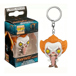 POCKET POP! KEYCHAIN! It - Pennywise with Dog Tongue