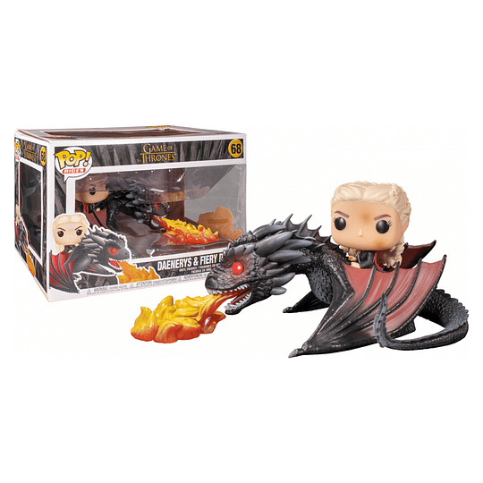 FUNKO POP DELUXE! Rides - Game of Thrones: Daenerys & Fiery Drogon