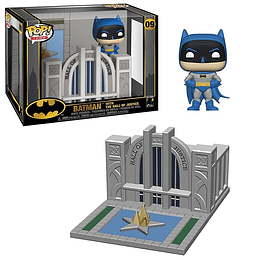 FUNKO POP DELUXE! Town - Batman with The Hall of Justice