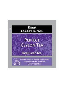 DILMAH EXCEPTIONAL PERFECT CEYLON TE - 50 Un.