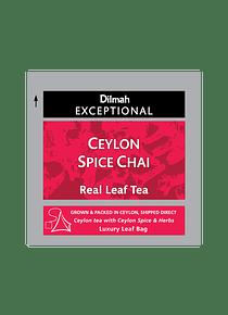 DILMAH EXCEPTIONAL CEYLON SPICE CHAI CHÁ - 50 Un.