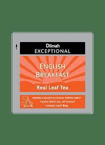 DILMAH EXCEPTIONAL ENGLISH BREAKFAST TE - 50 Un.