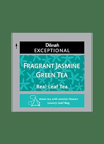 DILMAH EXCEPTIONAL FRAGRANT JASMINE GREEN TE - 50 Un.