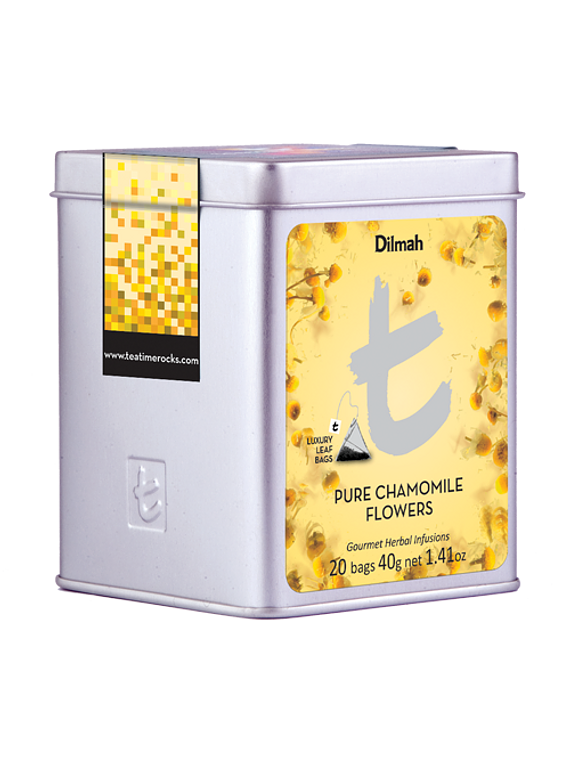DILMAH LUXURY LEAF PURE CAMOMILE FLOWERS INFUSION