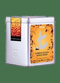 DILMAH LUXURY SUPREME CEYLON SINGLE ORIGIN TEA