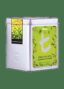 DILMAH LUXURY GREEN TEA WITH JASMINE FLOWERS TÉ