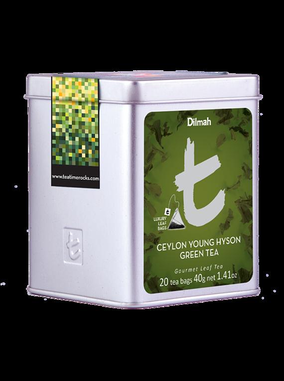 DILMAH LUXURY CEYLON YOUNG HYSON GREEN TEA