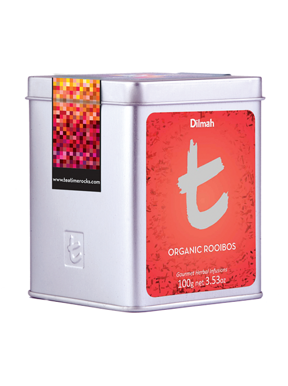 DILMAH LUXURY ROOIBOS PURE NATURAL ORGANIC INFUSÃO