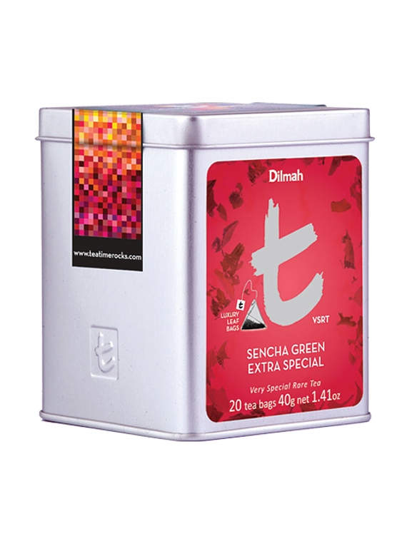 DILMAH LUXURY SENCHA GREEN EXTRA SPECIAL TEA