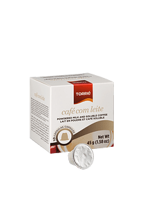 COFFEE WITH MILK CAPSULE - NESPRESSO®* COMPATIBLE