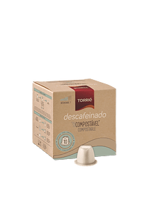COMPOSTABLE DECAFFEINATED COFFEE CAPSULE ** - NESPRESSO®* COMPATIBLE