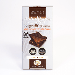 Chocolate Negro80% de Cacao