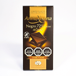 Chocolate Negro 72% de Cacao