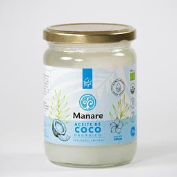 Aceite de coco Orgánico. Manare.