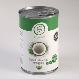 Bebida de coco orgánica - 400 ml