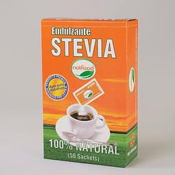 Stevia en sachets . 50 sobres. 100 grs.
