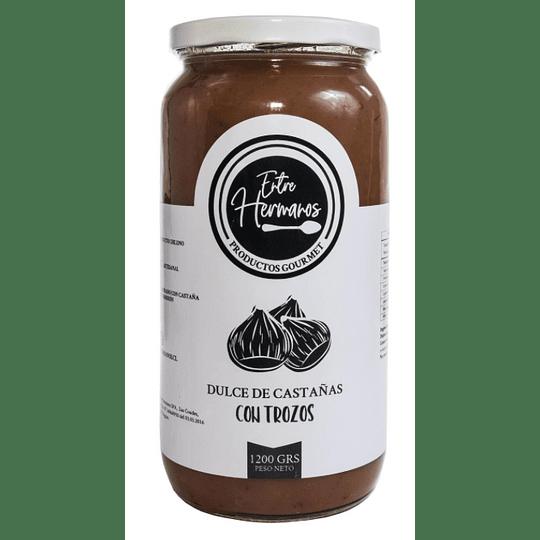 Dulce de castañas con trozos 1200 grs