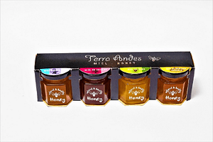 Pack Miel Terra Andes 4 variedades 45 grs c/u
