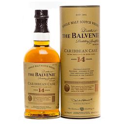 Balvenie 14 Caribbean Cask (43%vol. 700ml)