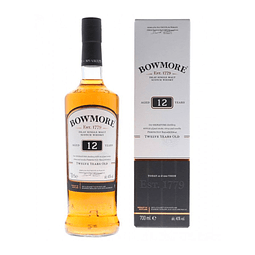 Bowmore 12 (40%vol. 700ml)