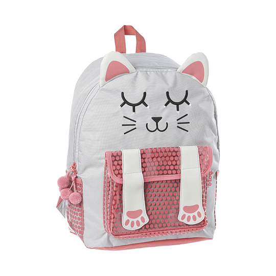 MOCHILA ESCOLAR C/LED B'LOG MY PET