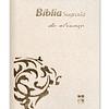 BÍBLIA DA ALIANÇA DN64ALLG – BRANCA | CAPA IMITAÇÃO CAMURÇA | LETRA GRANDE