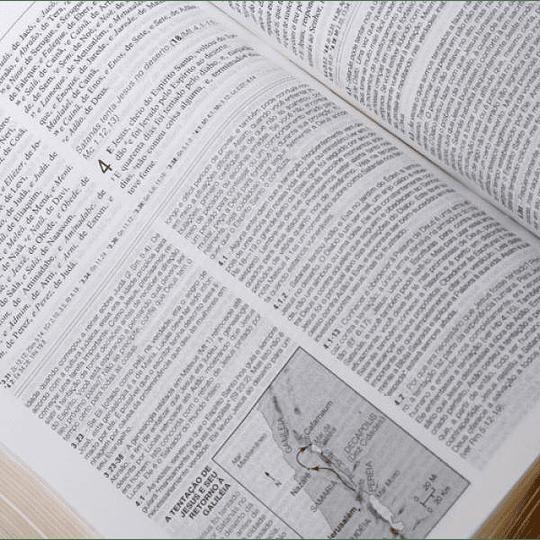 Bíblia de Estudo Aplicação Pessoal - tamanho médio