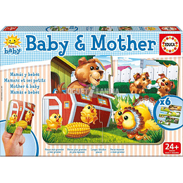 JOGO EDUCATIVO EDUCA BABY & MOTHER