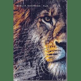 Bíblia KJA slim Capa dura Leão